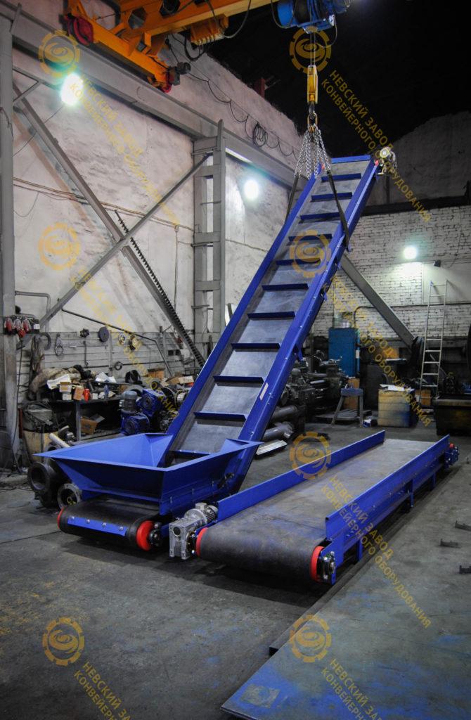 Ленточный транспортер для мусора ролик для рольганга купить пермь