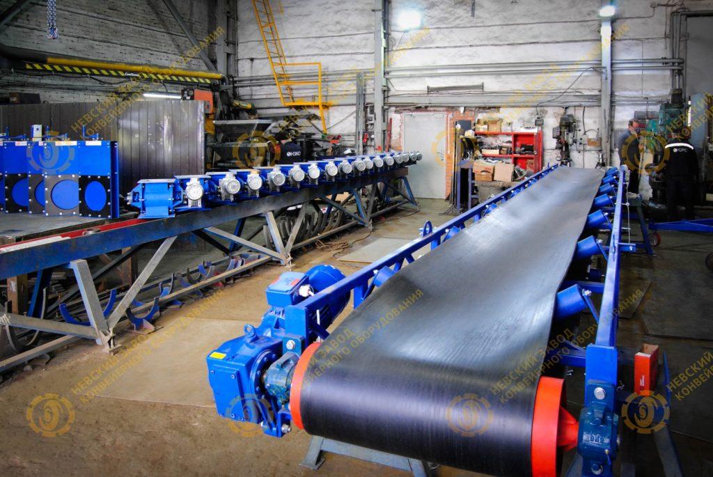 Ленточные конвейера санкт петербург конвейер для вертикальной транспортировки