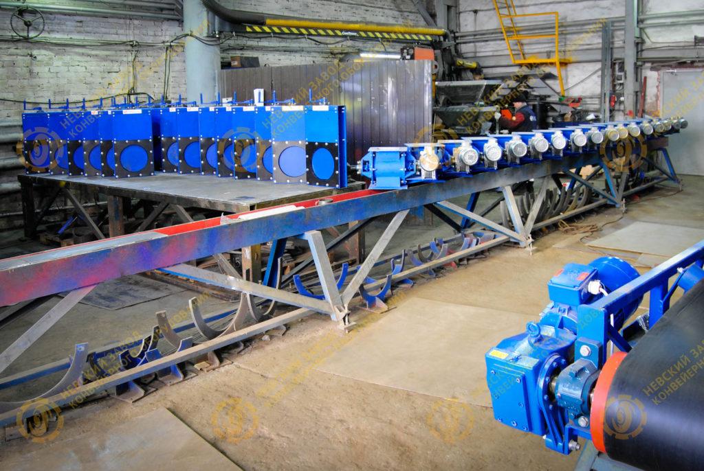 Пирс завод конвейерного оборудования конвейер ваз 2103
