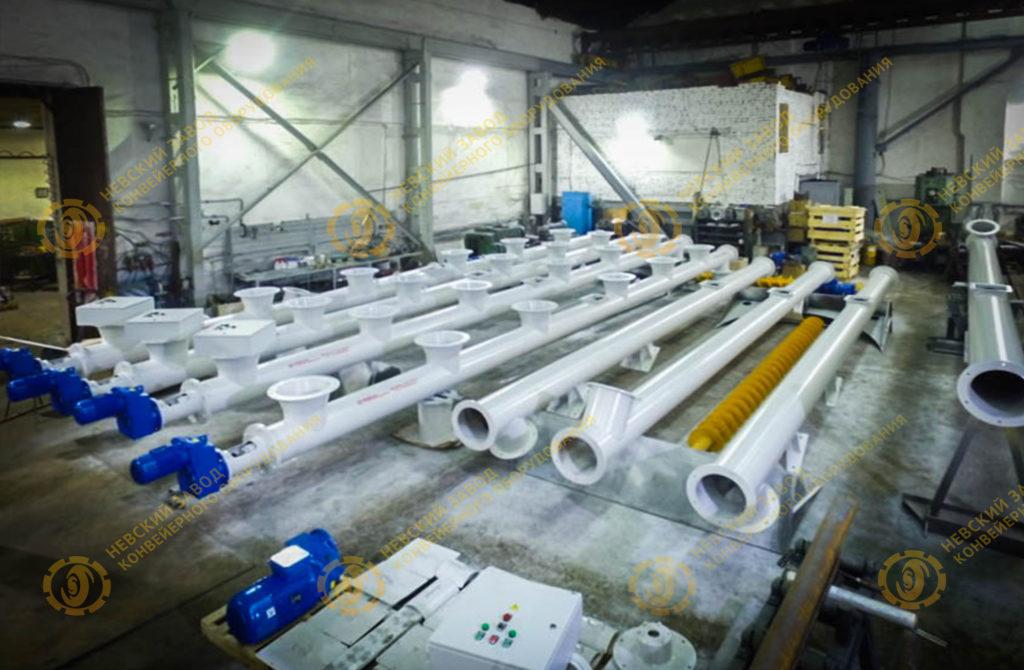 Завод по производство конвейерного оборудования уборка снега конвейером